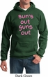 Pink Suns Out Guns Out Hoodie
