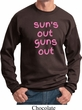 Pink Suns Out Guns Out Sweatshirt