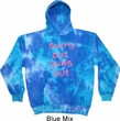 Pink Suns Out Guns Out Tie Dye Hoodie