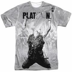 Platoon Grayscale Poster Sublimation Shirt