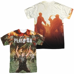 Platoon Key Art Sublimation Shirt Front/Back Print