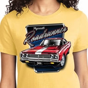 Plymouth Roadrunner Ladies Dodge Shirts