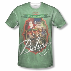 Polar Express Santa Sublimation Shirt