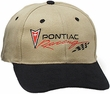 Pontiac Cap - Pontiac Racing Embroidered Hat