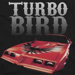Pontiac Turbo Bird Shirts