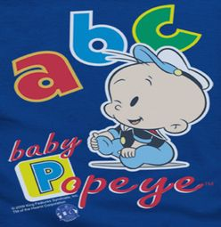 Popeye ABC Shirts