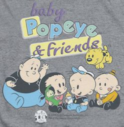 Popeye Baby Popeye & Friends Shirts