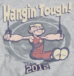 Popeye Hangin Tough Shirts