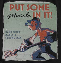 Popeye Hard Work Shirts
