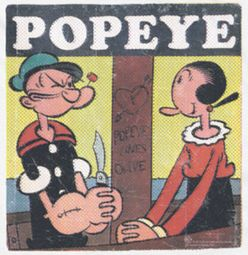 Popeye Loves Olive Shirts