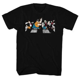 Popeye Shirt Crosswalk Black T-Shirt