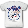 Popeye Shirt Trax Adult White T-Shirt Tee