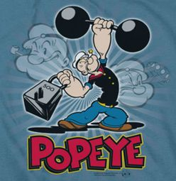 Popeye Strength Shirts