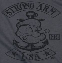 Popeye Strong Arm MC Shirts