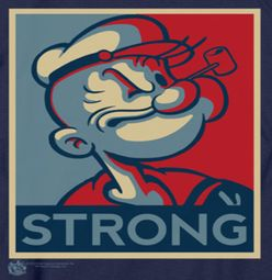 Popeye Strong Shirts