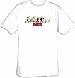 Popeye T-shirt Cartoon Usual Suspects Adult White Tee