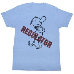 Popeye T-shirt Regulator Adult Light Blue Tee Shirt