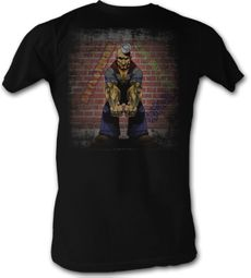 Popeye T shirt Serious Popeye The Sailorman Adult Black Tee Shirt