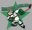 Popeye T-shirt Spinach Leafs Hockey Player Adult Gray Tee