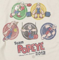 Popeye Team Popeye Shirts