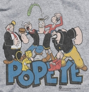 Popeye The Gang Ringer Shirts