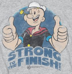 Popeye To The Finish Shirts
