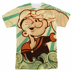 Popeye Traveling Man Sublimation Shirt