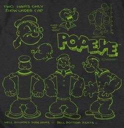 Popeye We Can Rebuild Him Shirts