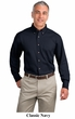 Port Authority Dress Shirt Long Sleeve Twill