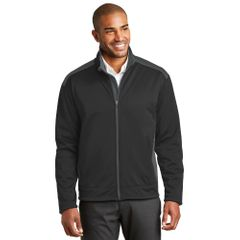 Port Authority Jacket Two Tone Soft Shell Fleece Outerwear