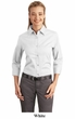 Port Authority Ladies Blouse Dress Shirt Easy Care 3/4 Sleeve