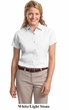 Port Authority Ladies Shirt Short Sleeve Easy Care Tee
