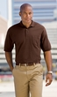 Port Authority Polo Shirt Golf Sport Silk Touch With Pocket