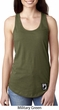 Pow Mia Patch Bottom Print Ladies Ideal Tank Top