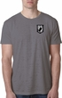Pow Mia Patch Pocket Print Burnout Shirt