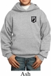 Pow Mia Patch Pocket Print Kids Hoodie