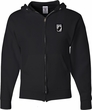Pow Mia Patch Pocket Print Mens Full Zip Hoodie