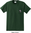 Pow Mia Patch Pocket Print Mens Pocket T-shirt
