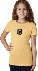Pow Mia Patch Small Print Girls T-shirt
