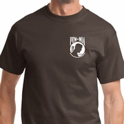 Pow Mia Pocket Print Mens Shirts