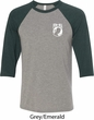 Pow Mia Pocket Print Raglan Shirt
