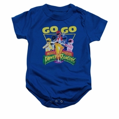 Power Rangers Baby Romper Go Go Royal Blue Infant Babies Creeper