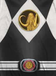 Power Rangers Black Ranger Costume Sublimation Shirts