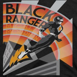 Power Rangers Black Ranger Shirts