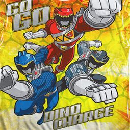 Power Rangers Go Go Dino Sublimation Shirts