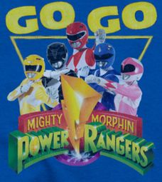 Power Rangers Go Go Shirts