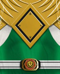 Power Rangers Green Ranger Costume Sublimation Shirts
