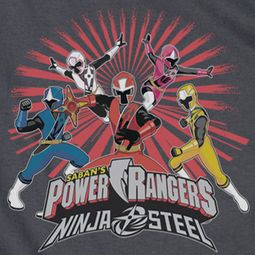 Power Rangers Ninja Steel Blast Shirts