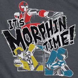 Power Rangers Ninja Steel It's Morphin Time Shirts