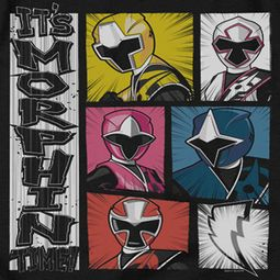 Power Rangers Ninja Steel Morphin Time Shirts